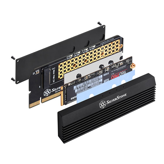 Supports 2230,2242,2260 and 2280 length M.2 SSD