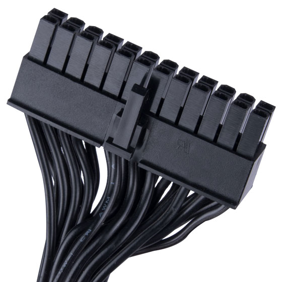 24 Pin motherboard connector