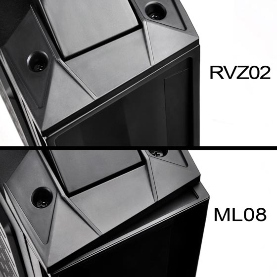Compatible with RVZ02 and ML08