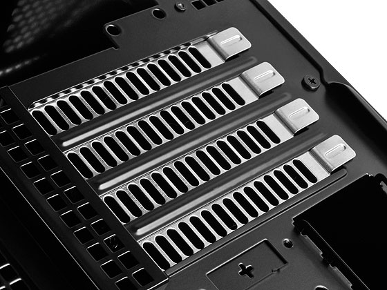 "Supports four expansion slots and graphic cards compatible up to 13.5"" in length"