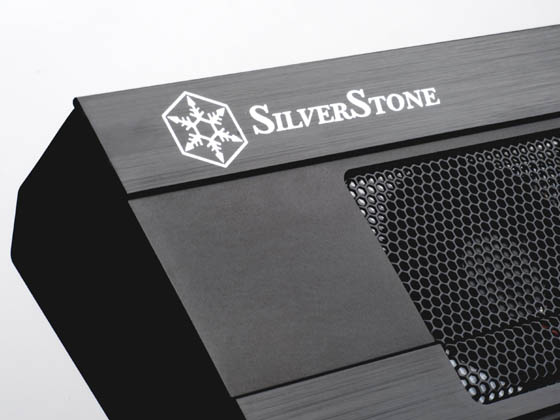 SilverStone logo close-up