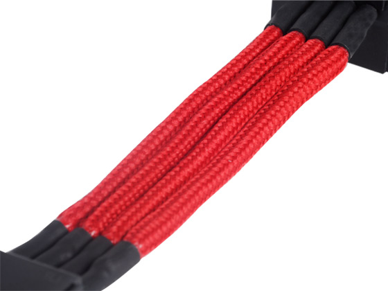 Individually sleeved cables