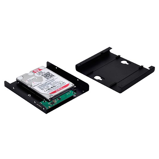 "Support 2.5"" 9mm HDD/SSD x 1"